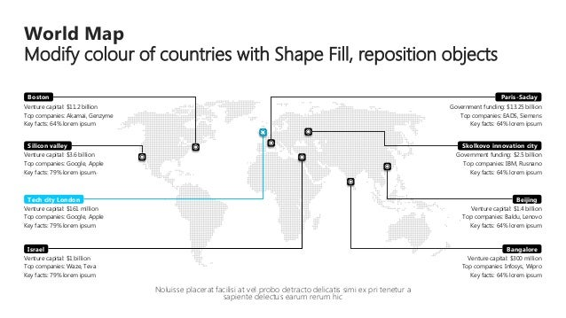 Powerpoint maps global regional dotted design in vector graphics world map gumiabroncs Gallery