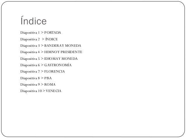 Italia (marisol) Slide 2