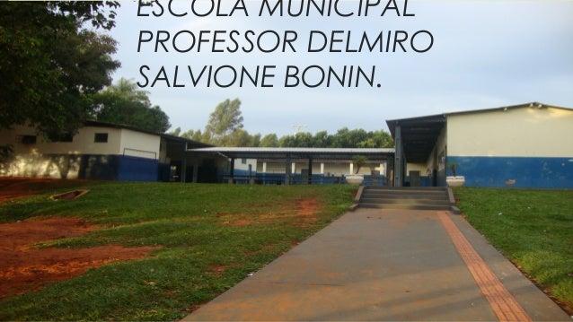 ESCOLA MUNICIPAL PROFESSOR DELMIRO SALVIONE BONIN.