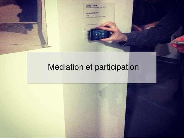 Médiation et participation
