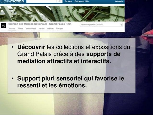 • Sur TripAdovisor, c'est l'internaute qui fait vivre la page du Grand Palais (Notation sur la réputation de l'institution...