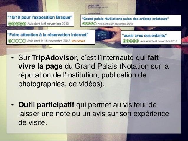 • Le Grand Palais sur Facebook, c'est fidéliser par le like, participer en partageant et en jouant, se cultiver grâce à la...