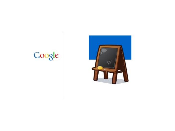 Google se esta basando en 2 soportes principales                              Resultados de contenido