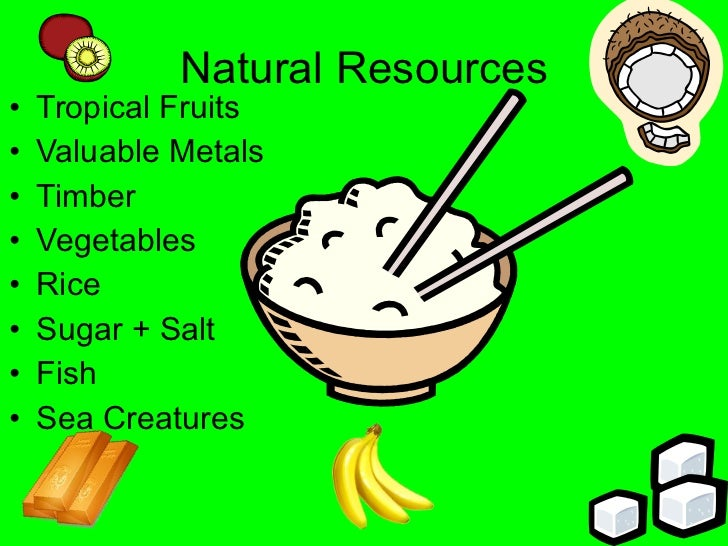 Geography Natural Resources
