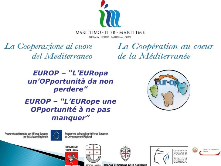 "EUROP – ""L'EURopaun'OPportunità da non      perdere""EUROP – ""L'EURope une OPportunité à ne pas     manquer"""