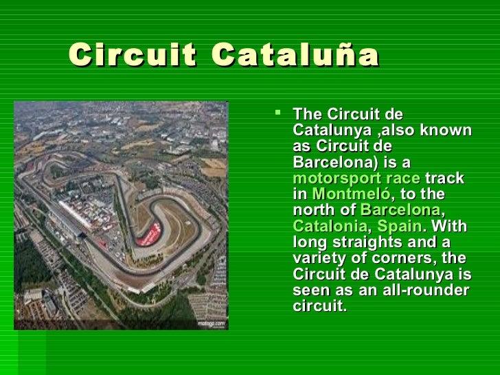  The Ciudad del Motor  Circuit     de Aragón, also known              as Motorland Aragón,Aragon        is a 5.344 km,   ...