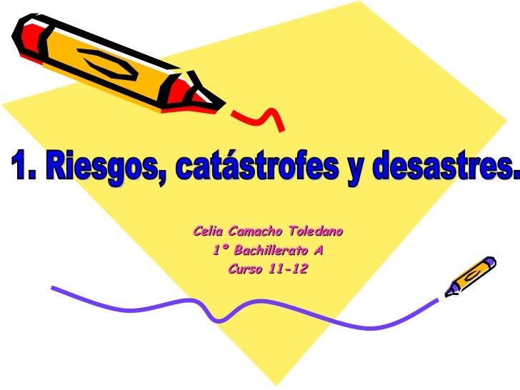 Celia Camacho Toledano   1º Bachillerato A      Curso 11-12