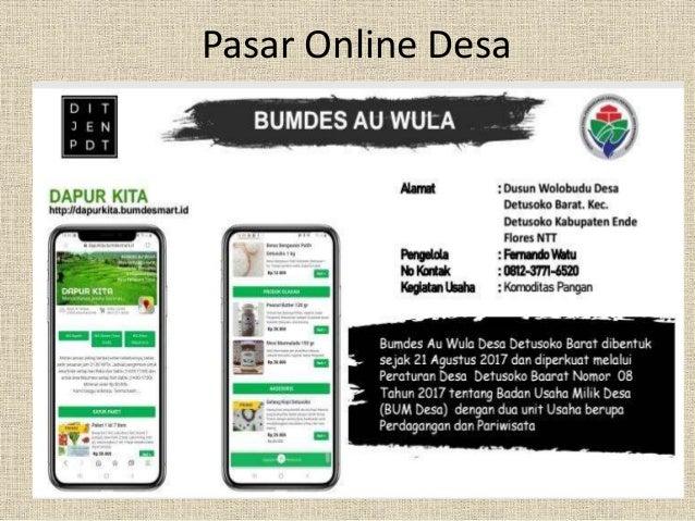 Kuliah Online 48 Produk Unggulan Desa Detusoko Barat