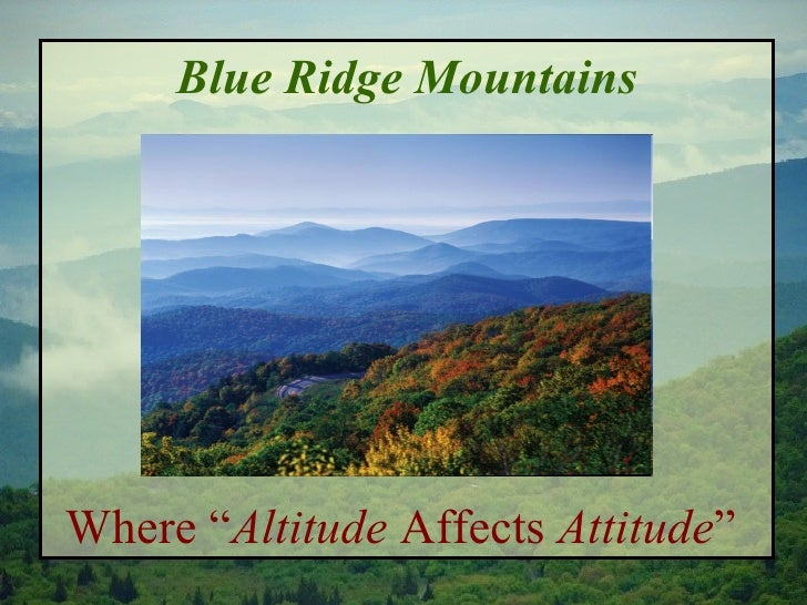 Image result for asheville altitude affects attitude