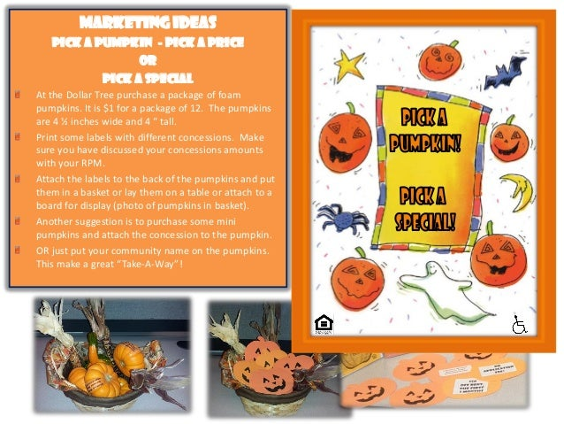 October Themed Apartment Marketing Ideas, Low Cost Marketing Ideas