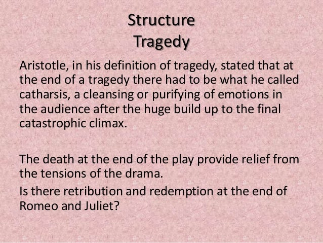 a description of the tragedy of romeo and juliet The prologue to romeo and juliet is a significant piece of text in literary analysis of romeo and juliet print reference this published prepares and establishes the viewer/audience for the two hours traffic on our stage which is and gives meaning to the tragedy of romeo and juliet.