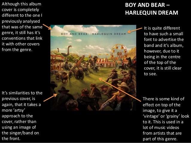 Analysis of Indie Folk Album Covers