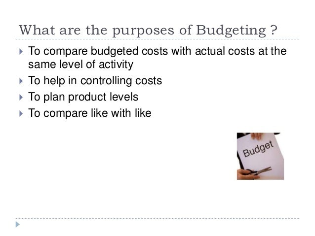 purposes budgeting For budgeting purposes, the relevant distinction is between capital and current (or operating) expenditures 5 current expenditures are purchases of assets to be.