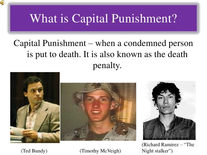 the quintessential debate on the pros and cons of capital punishment The campaign to rid the uk of capital punishment didn't end in 1965 the spur to the public debate on the death penalty stemmed from a trilogy of miscarriages of.