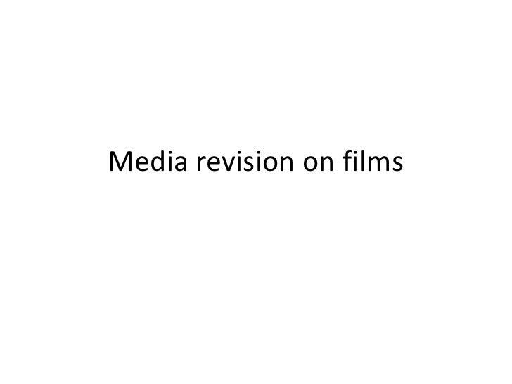Media revision on films