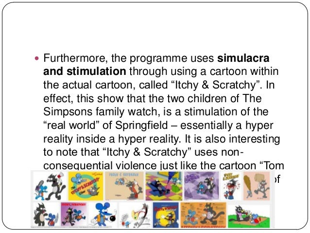 an analysis of the comedic techniques in the simpsons an american television show Media is a recurring theme of satire on the simpsonsthe show is known for its satire of american popular culture and especially television culture, but has since its inception covered all types of media such as animation, journalism, commercials, comic books, movies, internet, and musicthe series centers on a family and their life in a typical american town but the town of springfield acts.