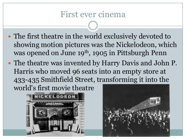 Powerpoint on film history