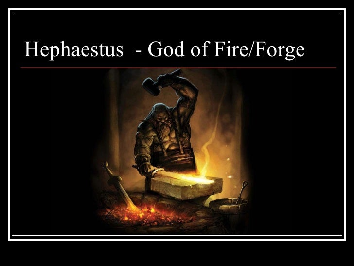 Hephaestus God Of Fire And Forge Powerpoint on greece #...