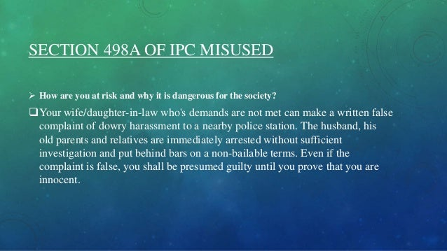 ipc 498a punishment