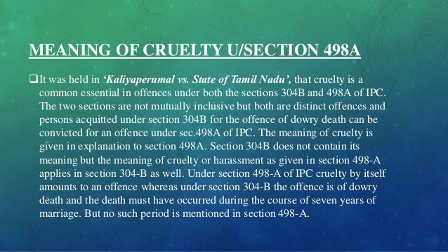 section 498a ipc