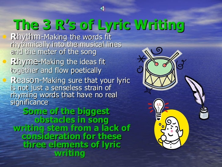 song writing topics The posts on this website are based on my songwriting books you'll find hundreds of useful, real world tips and techniques to get your creative ideas flowing and.