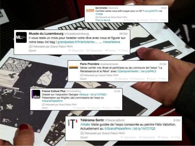 • Dailymotion fait voyager l'utilisateur en France, en dehors des murs du Grand Palais. • Offre une multitude de moyens d'...