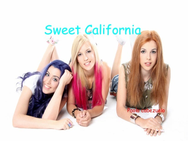 Sweet California  Paola cabezuelo