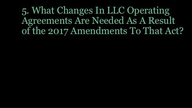 Isba Llc And S Corporations Tax And Llc Amendments Seminar May 2018