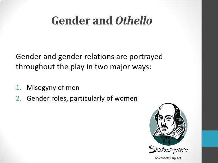 Gender roles in shakespeare plays