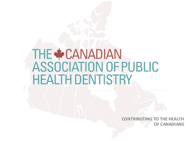 CONTRIBUTING  TO  THE  HEALTH   OF  CANADIANS