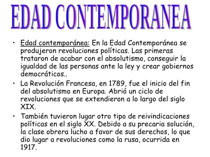 Power point politica edad moderna y contemporanea - Diferencia entre arquitectura moderna y contemporanea ...