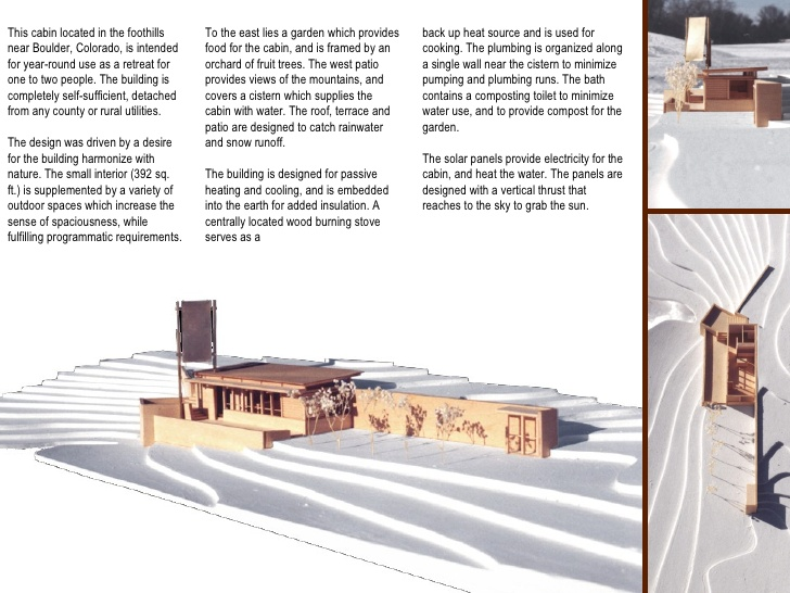 Ben noto Portfolio - Architectural - Student Works HA25