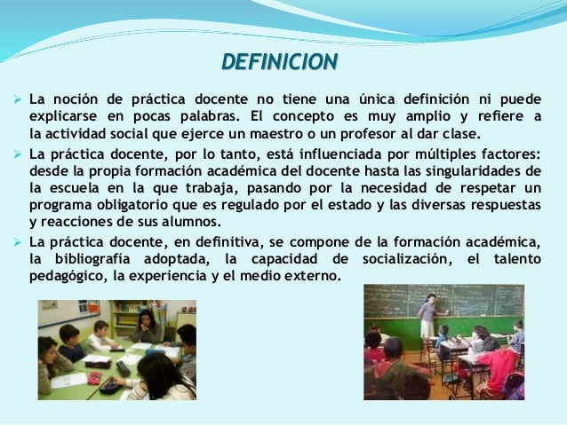Power point practica docente for Concepto de practica de oficina