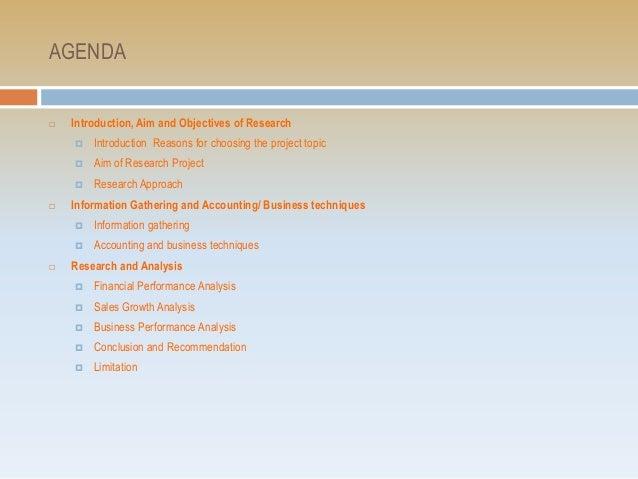 Presentation of Financial Analysis Slide 2