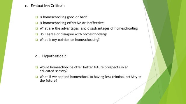 how effective is homeschooling essay Home schooling vs public schools: which one is the outline - home schooling vs public schools which i would like to talk to you about homeschooling children.