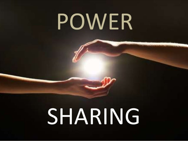 power sharing Power sharing is often purported to lead to civil peace, though its effects are disputed we identify three types of power sharing-inclusive, dispersive, and constraining-and analyze their mechanisms of power allocation we argue that constraining arrangements, which limit the power of a party or.