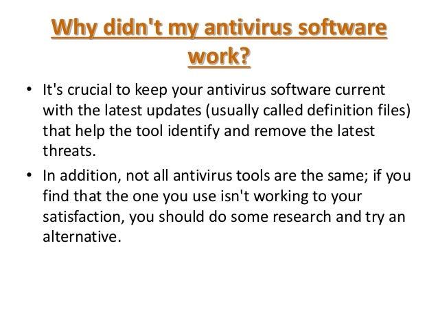 antivirus and virus powerpoint presentation interception disinfection alert 21