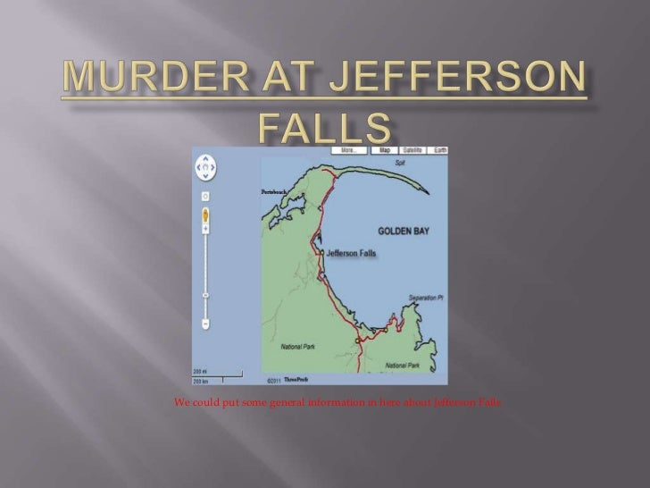 We could put some general information in here about Jefferson Falls
