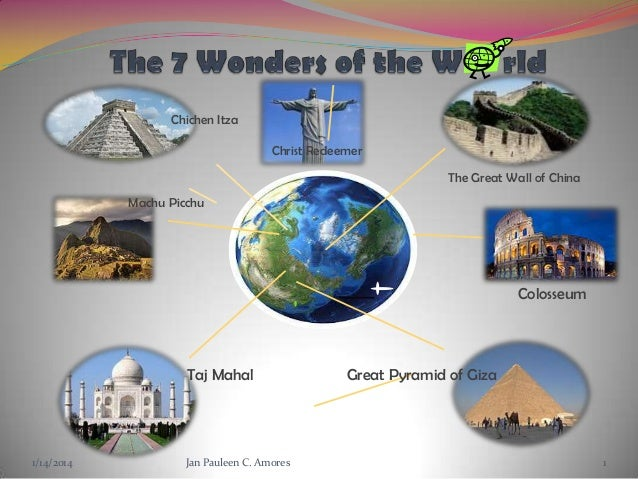 7 Artificial World Wonders | World Wonders  |7 Wonders Of The World 2012 With Name