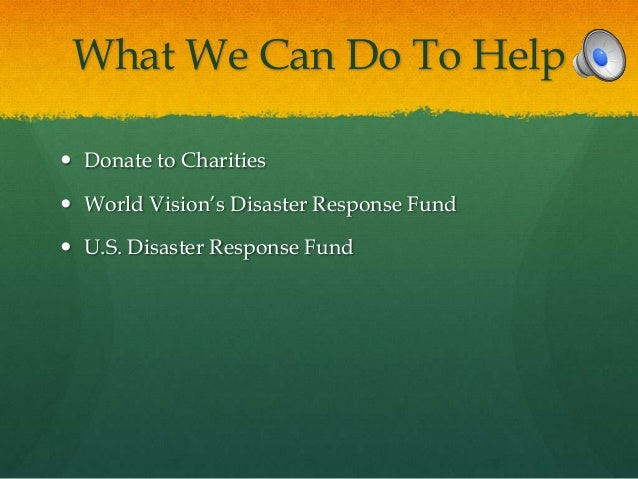 Mexico Natural Disaster Fund