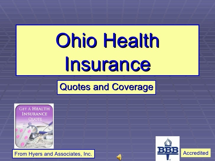 Ohio Health Insurance Quotes and Coverage From Hyers and Associates, Inc. Accredited