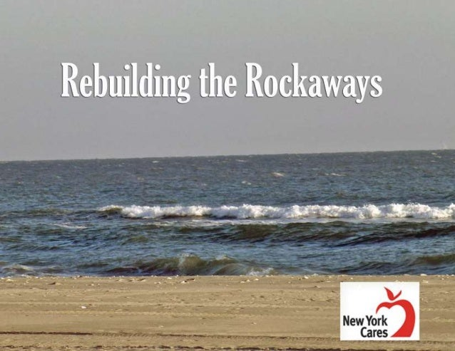 NY Cares Lands on Rockaway Beach