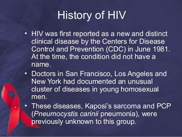 history of aids Dr lawrence k altman, who wrote the very first new york times report on aids, wrote an extended feature for the paper last weekend,.