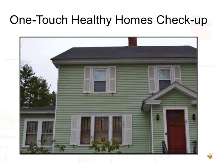 One-Touch Healthy Homes Check-up