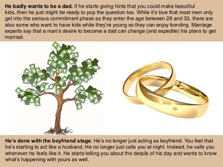 How To Know If A Guy Is Liable For Marriage