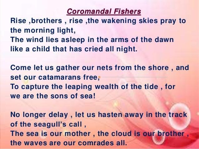 Power Point Presentation Coromandal Fishers 2