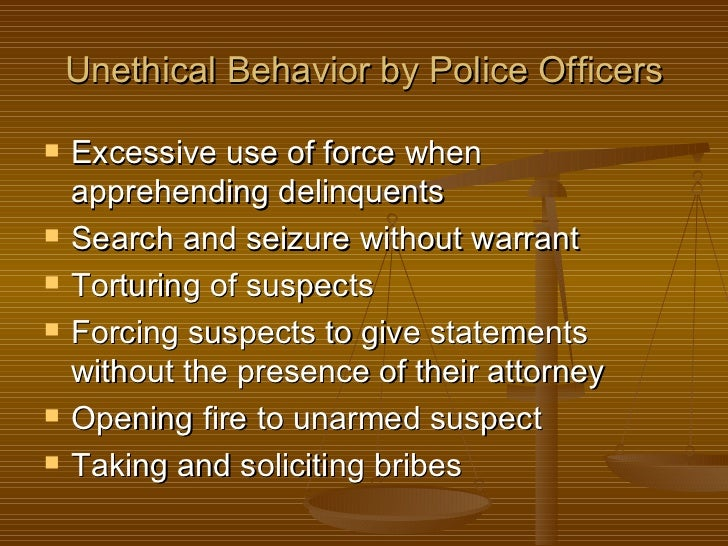 Unethical Police Quotes, Quotations & Sayings 2018