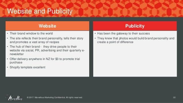 PowerPoint Presentation Food Marketing
