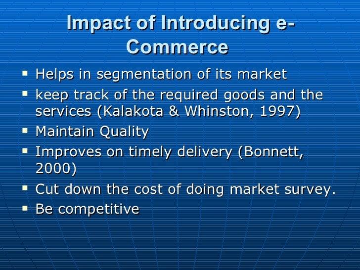 General e commerce dissertation