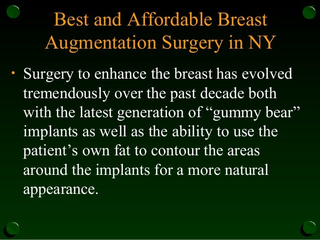 Reconstructive And Aesthetic Plastic Surgery In Nyc